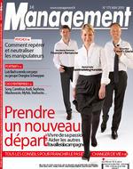 Développement personnel facilité par la relation individu/cheval - retombée presse sur le mensuel français Management (Mai 2010, n°175)